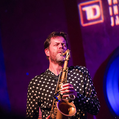 Donny McCaslin perfroming at TD Vancouver International Jazz Festival